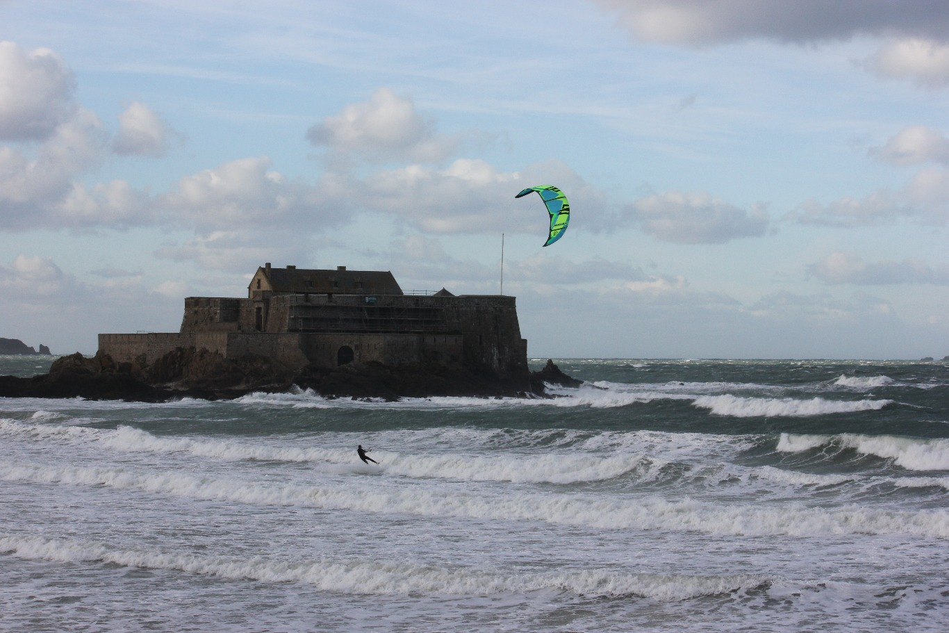 59) france - 2015 - binic (novembre) - Saint-Malo le Grand Bée